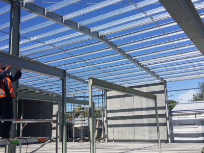 Structural Steel from concept to completion